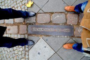 Gedenkstein Berliner Mauer