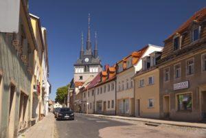 Lommatzsch Kleinstadt Sachsen