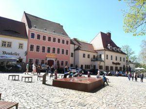 Vorplatz Dom und Burg Meißen