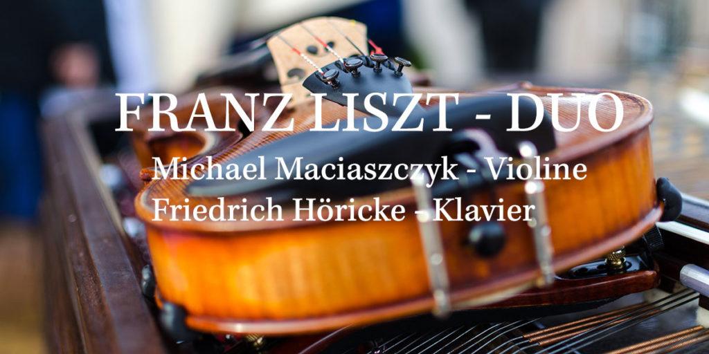 Gewinnspiel: 3 x 2 Karten für das FRANZ LISZT-DUO in Berlin!