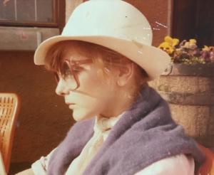 Barbara Edelmann mit Hut