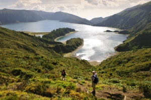 Wanderung Feuersee Azoren