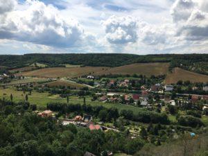 Blick über Freyburg